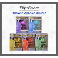 Thanos Chromes (5 Bundle) - Pop Vinyl