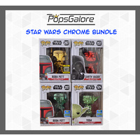 Star Wars Chromes (4 Bundle) - Pop Vinyl