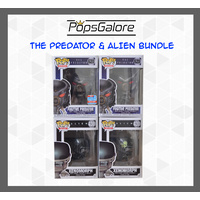 The Predator & Alien (4 Bundle) - Pop Vinyl