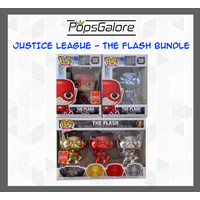 Justice League - The Flash (3 Bundle) - Pop Vinyl