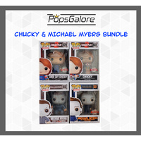 Chucky & Michael Myers (4 Bundle) - Pop Vinyl