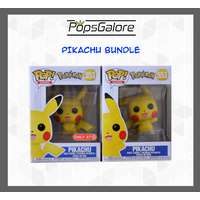 Pikachu (2 Bundle) - Pop Vinyl