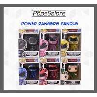 Power Rangers Movies 2017 (6 Bundle) - Pop Vinyl