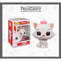 "Aristocats - Marie ""Flocked"" #294 - Pop Vinyl + 0.60mm Pop Protector"