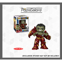"Avengers 3: Infinity War - Hulk Busting Out of Hulkbuster 6"" - Pop Vinyl 0.45mm"