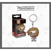 IT (2017) - Pennywise with Wig - Pocket Pop! Keychain