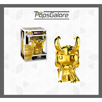 "Marvel Studios 10th Anniversary - Loki ""Gold Chrome"" - Pop Vinyl"