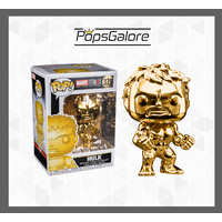"Marvel Studios 10th Anniversary - Hulk ""Gold Chrome"" - Pop Vinyl"