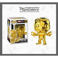 "Marvel Studios 10th Anniversary - Star-Lord ""Gold Chrome"" - Pop Vinyl"