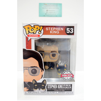 Icons - Stephen King with Molly #53 - Pop Vinyl