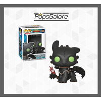 How to Train Your Dragon 3 - Toothless - Pop Vinyl