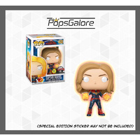 Captain Marvel Glow Hands - Pop Vinyl