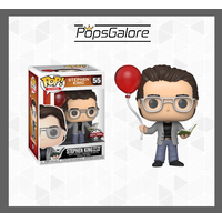 Icons - Stephen King with Red Balloon #55 - Pop Vinyl