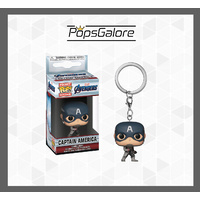 Avengers 4: Endgame - Captain America - Pocket Pop! Keychain