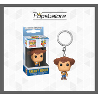 Toy Story 4 - Woody - Pocket Pop! Keychain