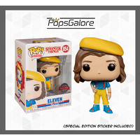 Stranger Things - Eleven in Yellow Outfit - Pop Vinyl