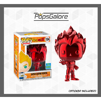 "DBZ - Vegeta ""Red Chrome"" (2019 SDCC Summer Convention) - Pop Vinyl"