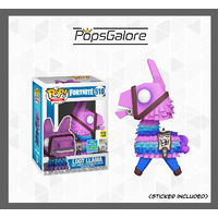 Fortnite - Loot Llama GITD #510 - SDCC 2019 Pop Vinyl
