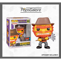 The Simpsons - Evil Groundskeeper Willie - NYCC 2019 Pop Vinyl 0.60mm