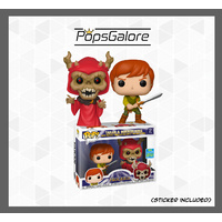Black Cauldron - Taran & Horned King 2-Pack - SDCC 2019 Pop Vinyl