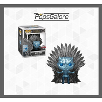 Game of Thrones - Night King Throne Metallic - Pop Vinyl Deluxe