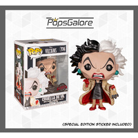 101 Dalmations - Cruella Diamond Glitter - Pop Vinyl