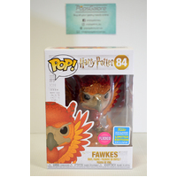 Harry Potter - Fawkes (Flocked) - SDCC 2019 Pop Vinyl