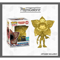 Stranger Things - Demogorgon (Gold) #128 - SDCC 2019 Pop Vinyl