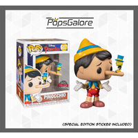 Pinocchio with Jiminy Cricket - Pop Vinyl
