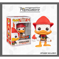 Donald Duck - Donald Firefight - NYCC 2019 Pop Vinyl