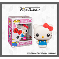 "Hello Kitty ""Flocked"" #28 - Pop Vinyl"