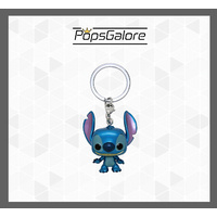 Lilo & Stitch - Stitch Metallic - Pocket Pop! Keychain
