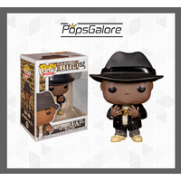 Notorious BIG Black Suit Fedora - Pop Vinyl