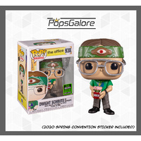 The Office - Dwight Schrute as Recyclops 2020 ECCC Spring Convention - Pop Vinyl