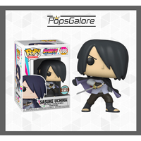 "Boruto: Sasuke with cape ""No arm"" (Specialty Store) - Pop Vinyl + 0.60mm Pop Protector"