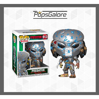 Predator Electric Armor Blue #913 - Pop Vinyl
