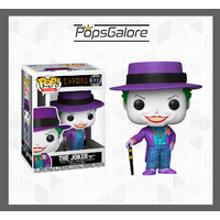 Batman 1989 - Joker with Hat #337 - Pop Vinyl