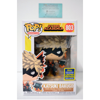MHA: Katsuki Bakugo #803 (2020 SDCC Summer Convention) - Pop Vinyl