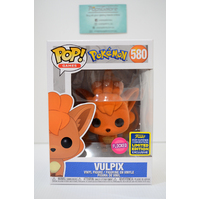 "Pokemon: Vulpix ""Flocked"" #580 (2020 SDCC Summer Convention) - Pop Vinyl"