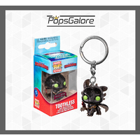 "How to Train Your Dragon - Toothless ""Diamond Glitter"" - Pocket Pop! Keychain"