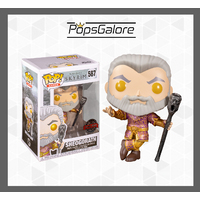 "Elder Scrolls - Sheogorath with Wabbajack ""Metallic"" #587 - Pop Vinyl"
