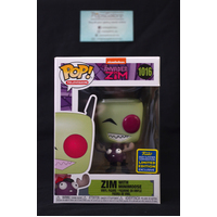 Invader Zim: Zim with Minimoose #1016 (2020 SDCC Summer Convention) - Pop Vinyl