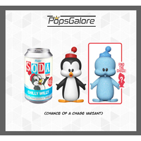 Walter Lantz - Chilly Willy with a CHANCE OF A CHASE - Soda Vinyl Figurines