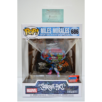 Street Art: Miles Morales #686 (2020 NYCC Fall Convention) - Deluxe Pop Vinyl