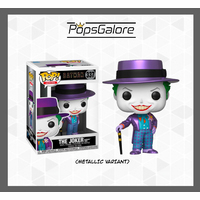 "Batman 1989 - Joker with Hat ""Metallic"" #337 - Pop Vinyl"