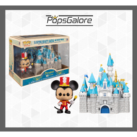 Disneyland 65th Anniversary: Mickey with Castle - Town Pop Vinyl