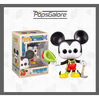 Disneyland 65th Anniversary: Mickey In Lederhosen - Pop Vinyl + 0.35mm Pop Protector
