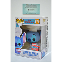 Disney: Stitch as Baker #978 (2020 NYCC Fall Convention) - Pop Vinyl