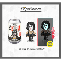 "KISS - Paul Stanley ""Starchild"" with a CHANCE OF A CHASE - Soda Vinyl Figurines"