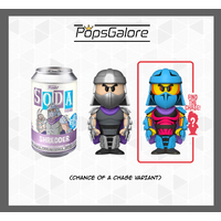 TMNT - Shredder with a CHANCE OF A CHASE - Soda Vinyl Figurines